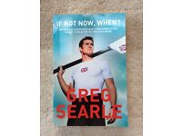 Greg Searle If not now, when? - signed