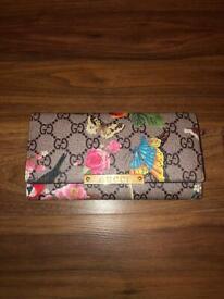 Floral Gucci Design Wallet