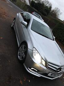 Mercedes e class coupe 220 cdi