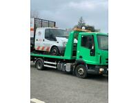 24/7 CAR VAN recovery tow truck towing vehicle breakdown breakdown forklift transport moped delivery