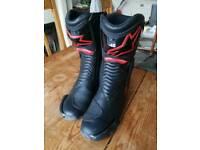Alpinestar motorbike boots