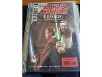 Mint Condition: Signed Ltd Edtn Dark Horse Comics - Star Wars Episode 1 Phantom Menace