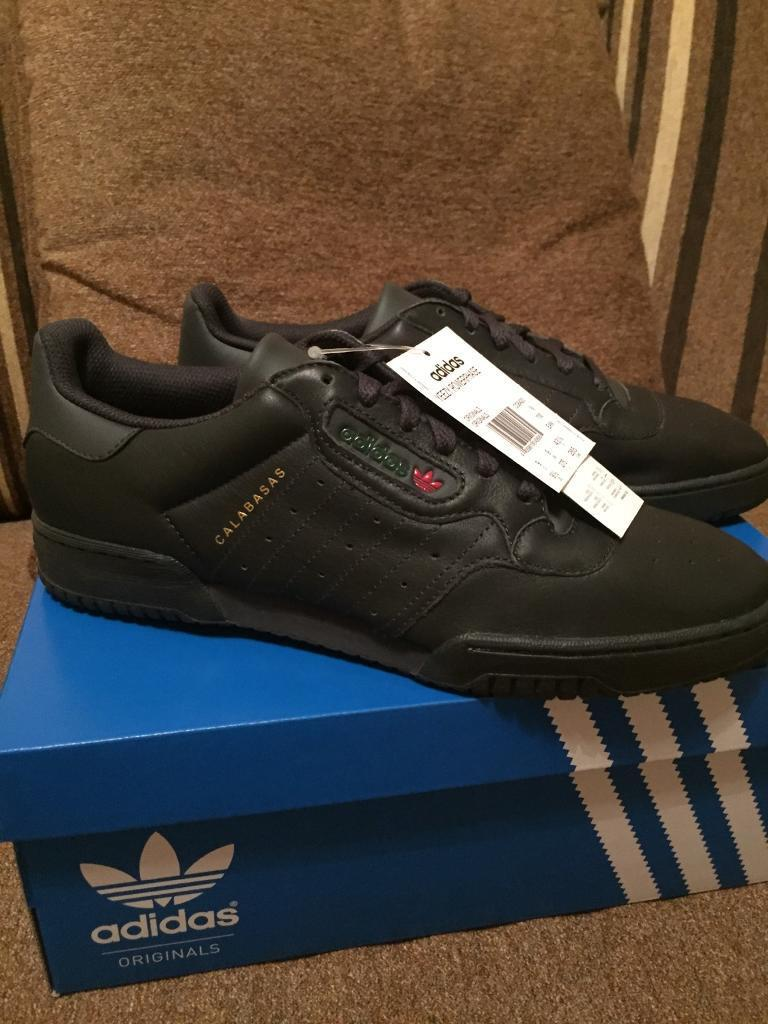 adidas yeezy powerphase, nucleo nero formatori uk 43