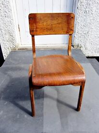 ​Vintage Children's Infant Primary School Chair 50/60's Melody Summers' Signature