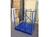 Workshop Sheet Storage Rack/Racking 8x4' MDF Ply Plastic Perspex Frames