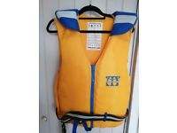 Marlin 50N Yellow/Blue Foam Buoyancy Aid Jacket