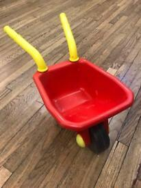 Children's play wheelbarrow
