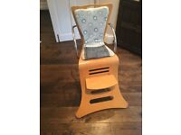 Kuster Wooden Highchair with removable tray