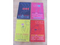 Image Comics 'Sex' vols 1-4 Joe Casey Piotr Kowalski graphic novels comics grt cndtn