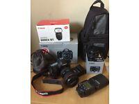 Canon 5D Mark III 24-105mm Lens Kit + 50mm 1.4 Lens + 600EX RT Flash + Accessories