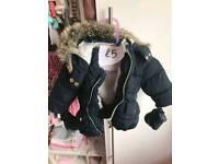 Baby girl coats