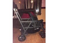 Immaculate Condition Joovy Caboose Ultralight sit and stand pushchair.