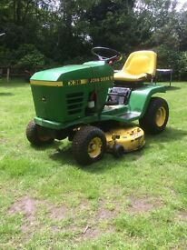 john deere stx 38 nride on mower