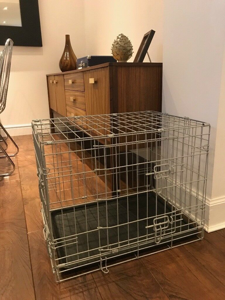 Phenomenal 2 Door Folding Dog Crate As New In Bothwell Glasgow Gumtree Machost Co Dining Chair Design Ideas Machostcouk