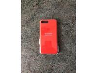 Genuine Spicy orange iPhone 8/7 plus silicone case