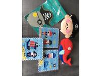 Pirate theme decoration nursery kids room