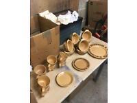 Kiln craft Bacchus Staffordshire dinner service