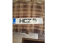 cherished number plates hcz 5 & mhz 565 on retention certificates