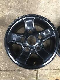 5x Landrover Defender Power-coated Boost Alloys