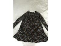 Mini Boden Floral Dress 7/8 Years