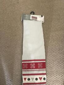 Christmas table runner from next brand new with tags BNWT