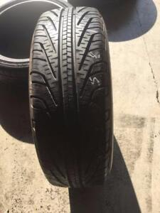 TWO 99% NEW MICHELIN P185/65R14 85T