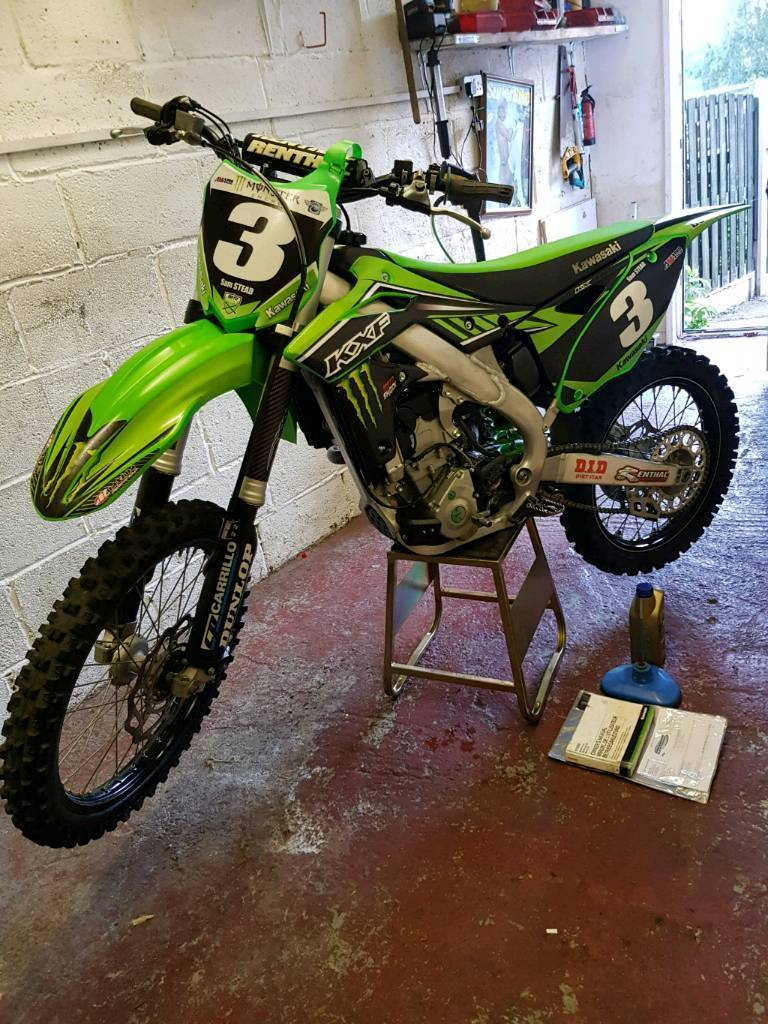 kawasaki kxf 250 2016 well looked after low hours