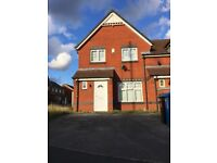 Halewood, Nr Liverpool - Modern end of terrace three bedroom house for rent