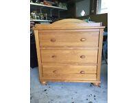 Mamas & Papas Richmond Oak Dresser With Changer