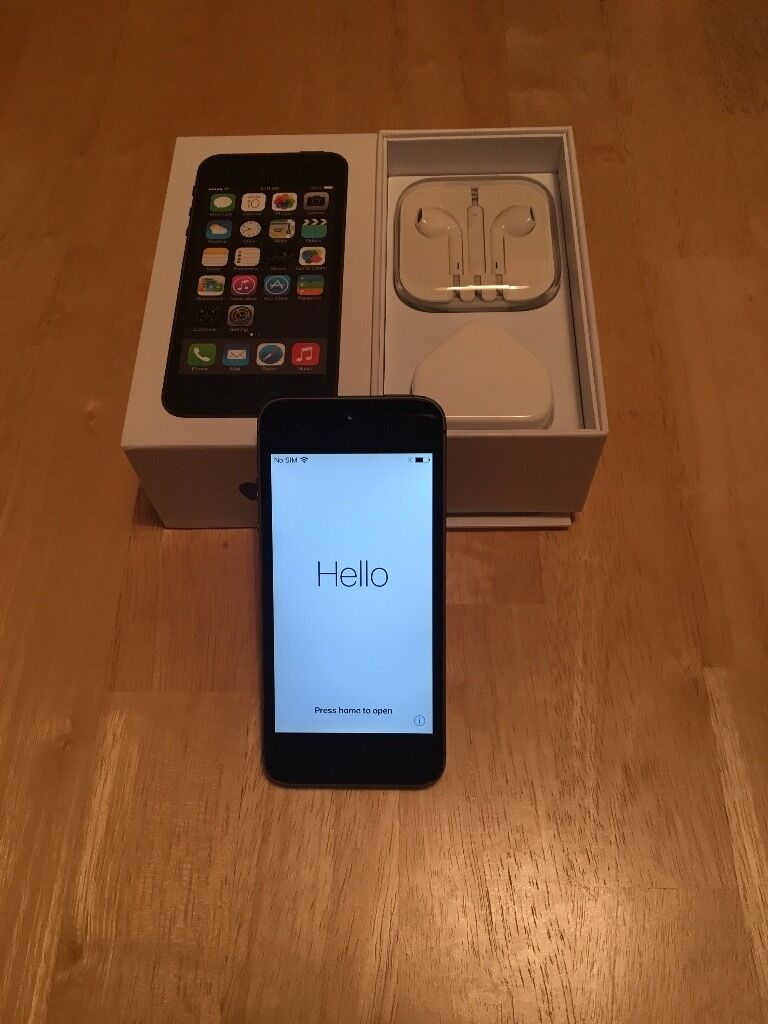 iPhone 5s 32gb Space Grey Unlockedin East End, GlasgowGumtree - iPhone 5s 32gb unlocked Original box and charger Unused earphones Slight marks to bottom only, barely noticeable No marks on screen or back