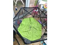 Summer pop and play portable playpen