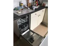 Complete howdens nearly new grey kitchen with dishwasher!!