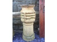 Reclaimed Queen Chimney Pot