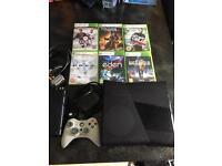 XBOX 360 + 6 games