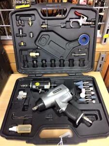 Impact pneumatique 1/2 drive STANLEY + vire-vite et accessoires ***Testé et Garanti*** #p026155