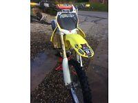 Suzuki RM-Z 250 2008 motocross bike