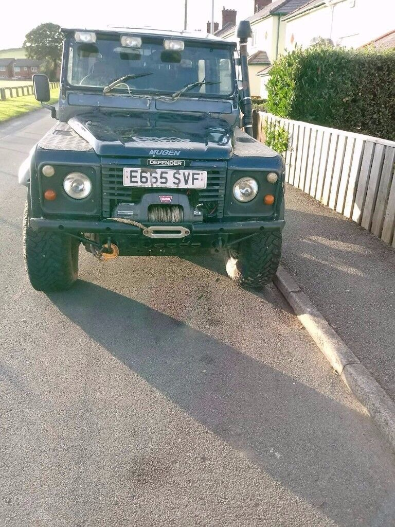 landrover defender 90 off road ready