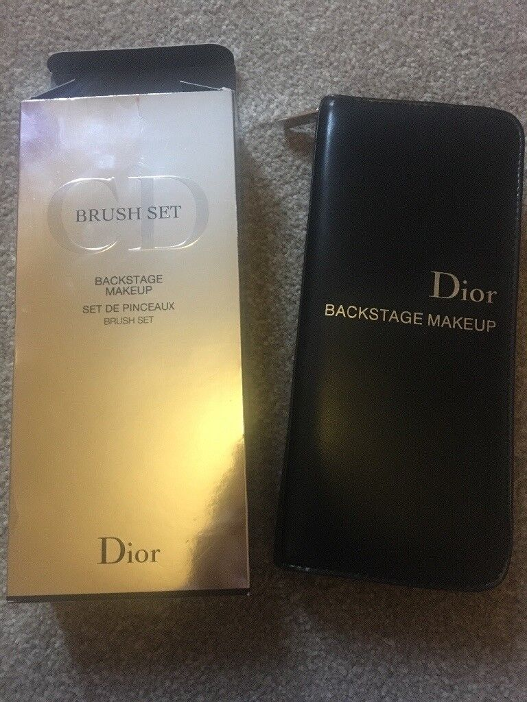Dior Backstage Brush Set NEW