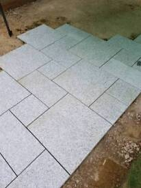 Marshalls Granite Eclips slabs and Metro driveline paveres