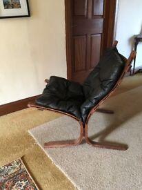 Mid century retro arm Chair 1970s ingmar relling