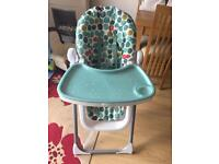 Mammas and Pappas High Chair Great Condition