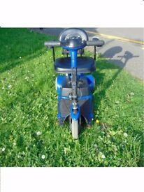 Mobility Scooter Pride Go Go 4mph rare switch start ideal for a person with hand problems £280 ovno