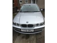 LOW MILEAGE, 12 MONTHS MOT, BIG SPEC BMW 316ti compact