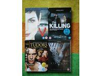 4 Dvd TV Box Sets