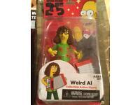 Simpsons woo hoo guest star weird Al figure