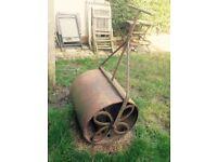 Vintage Victorian garden roller 140 Ono