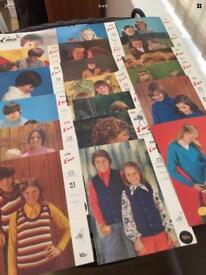 Vintage knitting patterns - Job Lot - Toddlers