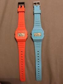 Casio F-91W watches