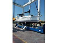 Boat for sale. Hunter Legend 31