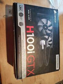 Corsair H100i Gtx water cooler